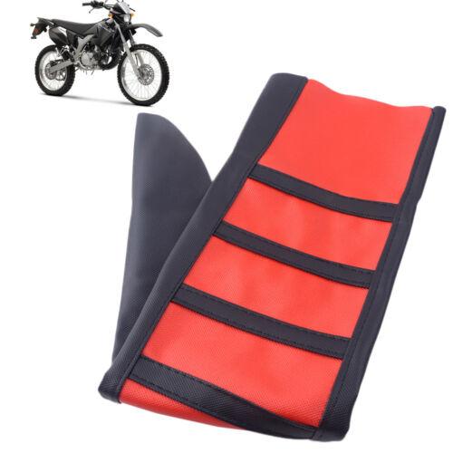 Universal Pince Moto Housse de siège Rib Peau Caoutchouc Pour Dirt Bike enduro