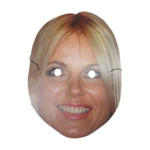 Spice Girls Face Masks Posh Scary Baby Ginger Sporty Fancy Dress Girl Group Pop