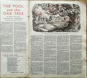 Francis-Darley-Short-Story-the-Pool-and-the-Oak-Tree-1949