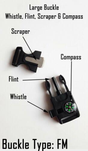 Fleet Air Arm Badged Survival Bracelet Wristband A Great Gift