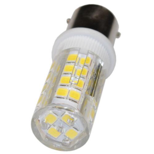 2-Pack 110V LED Light Bulb BA15d Double Contact Base for Bernina Sewing Machine