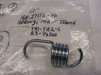 YAMAHA, NOS,OEM, MAIN STAND SPRING, 168-27116-00,TX500, XS360, XS400 ,NEW, #148