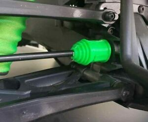 Green Silicone Driveshaft Axle Boots Complete Set for Traxxas X-Maxx XMaxx 6S 8S