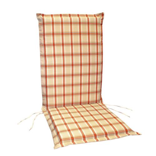 Sitzauflage Hochlehner Polsterauflage Stuhlauflage Auflage verschiedene Farben