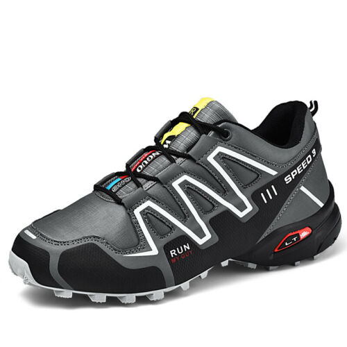 Mens Outdoor Hiking Shoes Large Size 12 Athletic Training Sport Camping Sneakers