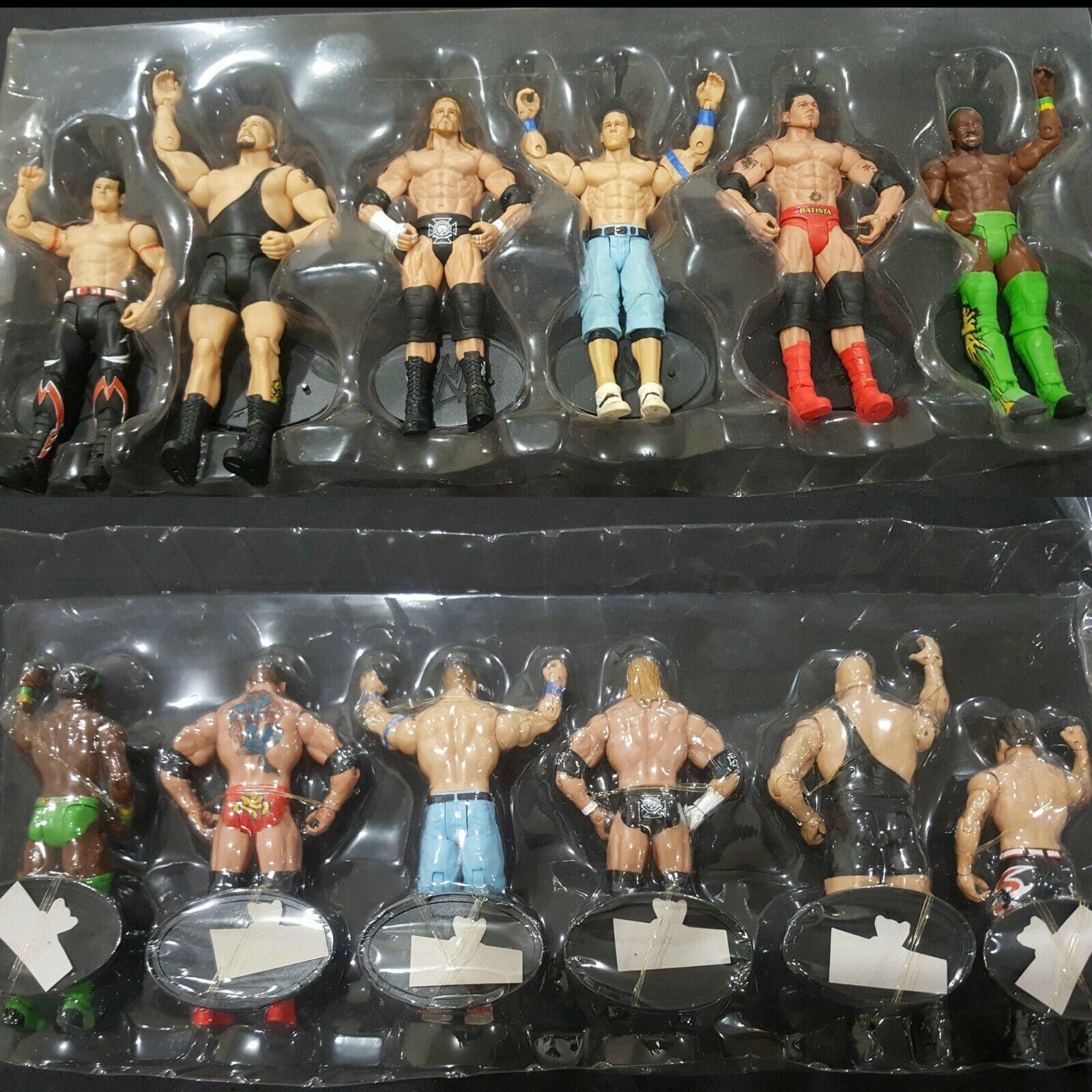 WWE série 1 Collection Complète lot de 6 Toys R  Us exclusive neuf  sans boîte  vente d'usine en ligne discount