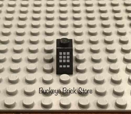 LEGO Black Slope 1x2  with 9 Large /& 3 Small Buttons 5561 5542 5571 10151 5591