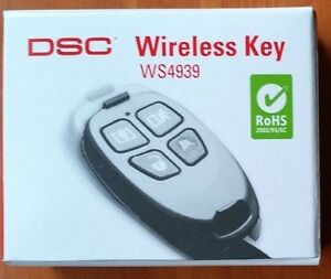 Details about DSC WS4939 Home Alarm Security System Wireless Remote Control  Key Fob