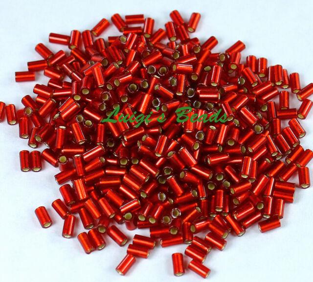 #1 Bugle 3mm Japanese Toho Glass Seed Beads Pick from 24 Hybrid Colors!