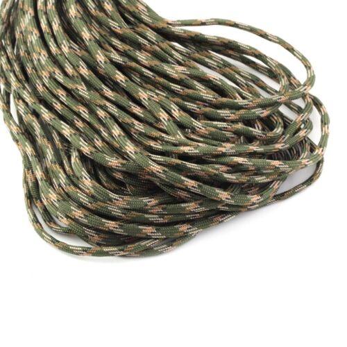 550 Paracord Cuerda de Nylon Correa de Cuerda Paracaída 30m 100FT Outdoor BYUKST