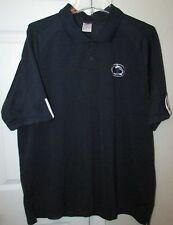 NCAA Penn State Nittany Lions Mens Golf Polo Shirt XL by Adidas EUC