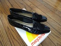 California Magdesians Black Leather Shoes Size 8.5 N $85.00