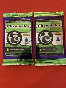Lot-of-2-2019-20-CHRONICLES-SOCCER-Sealed-Packs