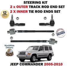 De Jeep Commander 2004 > Interior 2x + 2x Exterior Dirección Rótula Barra De Acoplamiento Conjunto de rack de pista