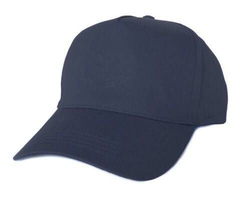 Baseball Cotton Cap Classic Unisex Mens Ladies Hat Adjustable Summer Sun Outdoor
