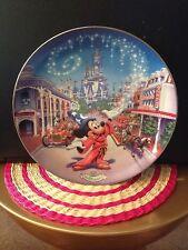 Bradford Exchange Porcelain Plates Walt Disney World 25th Anniversary set of 4