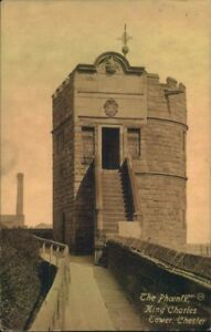 Postcard-Cheshire-King-Charles-039-s-Tower-Chester-Posted-1922