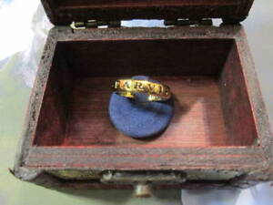 UNCHARTED Nathan Drake Ring made sterling silver 925 artisan product