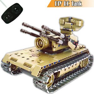 RC Car 3D Building Blocks Set Construction Children Toys Educational Block Kids
