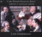 Carl Philipp Emanuel Bach: Symphonies & Concertos pour violoncelle (CD, Mar-2007, Alpha Productions)
