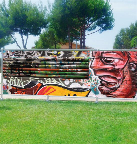 Paravento Vista Decocrazione Personalizzato Tag Graffiti Ref 3606