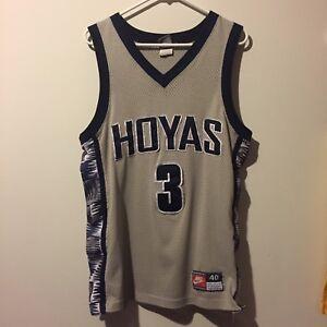 allen iverson georgetown jersey Authentic 90s   eBay