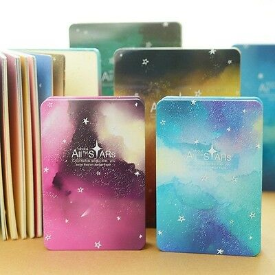 """""""All Stars"""" 1pc Notebook Metal Cover Luxury Diary Journal Planner Sketchbook"""