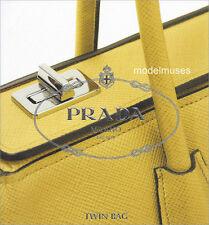 PRADA Tote & Bag Collection CATALOG Saffiano Cuir TWIN BAG 2014