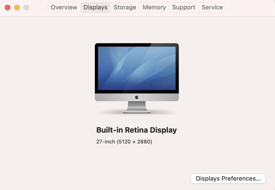 iMac, Retina 5K, 27-inch