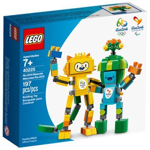 LEGO 40225 Rio Rio Rio 2016 Mascots OVP 73d0bc