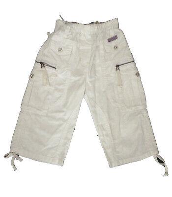 Forte Pantalones Cortos , Shorts Niña De Bouny Baby , Blanco , Talla 8