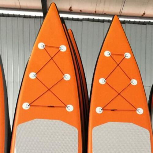 2 Stück Edelstahl D-Ring Pad Patch für PVC Schlauchboot Schlauchboot