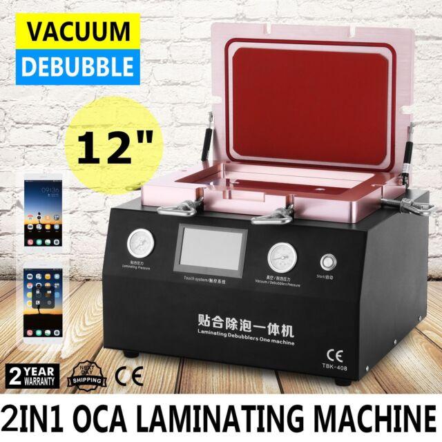 """5-in-1 14"""" Automatic LCD Vacuum OCA Laminating Machine Built-in Pump"""