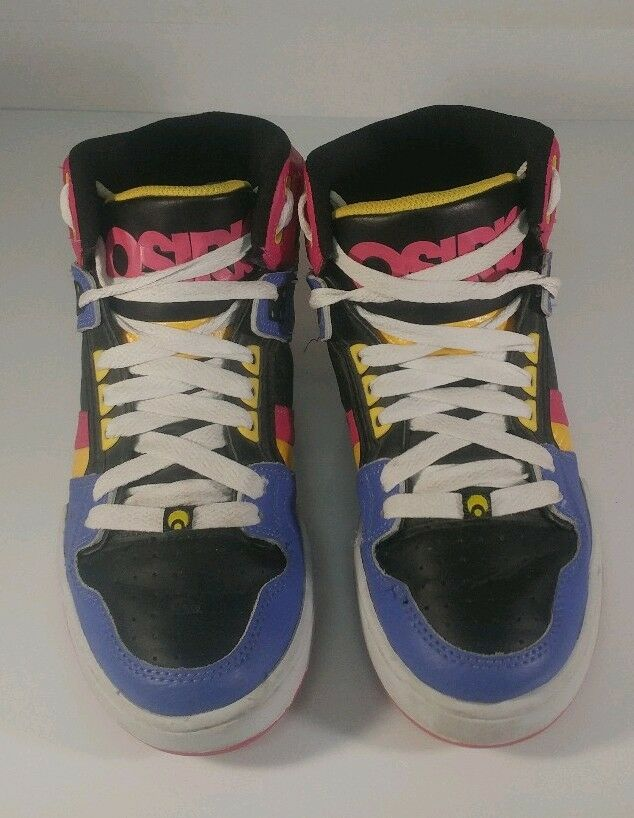 Osiris  NYC 83 SLM Girls  Womens Size 9 shoes Multi-colord FREE  SHIPPING