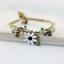 miniature 11 - Bracelet Flower Daisy Beads Girls Ceramic Charm Jewellery Silver Ankle Girls