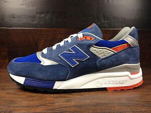 online retailer d7e02 92349 Details about New Balance M998CSAL -USA 998 Connoisseur Retro Ski (Blue /  Orange) MENS