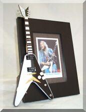 MICHAEL SCHENKER  Miniature Guitar Frame Scorpions