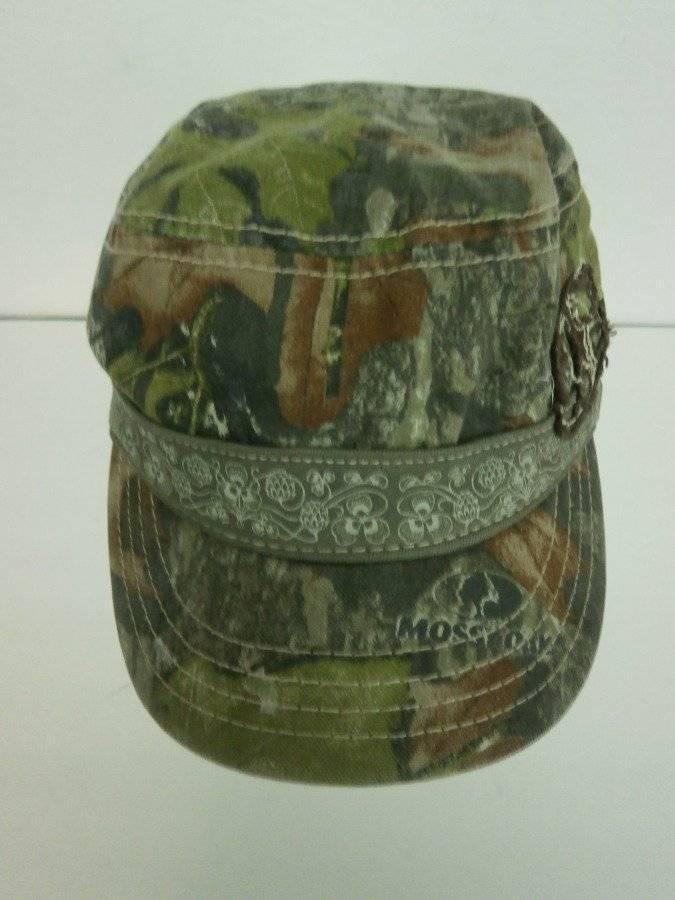 Mossy Oak Field Cap Hat Print Camo w/ Clover Print Hat Embroider Logo Adjustable c58cd7
