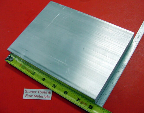 4 Pieces 1 X 6 ALUMINUM 6061 T6511 SOLID FLAT BAR 8 long New Plate Mill Stock