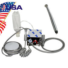 Usa Portable Dental Air Turbine Unit Compressorampfree High Speed Handpiece 4 Hole