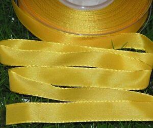1 rolle taftband schleifenband mit draht 15mm x25m gelb zum sonderpreis x 4978 ebay. Black Bedroom Furniture Sets. Home Design Ideas
