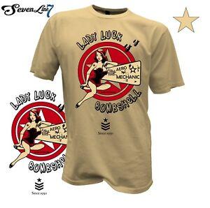 T-Shirt-Pin-Up-Girl-Bomb-Flieger-Flugzeug-RC-Flug-Biker-Bombshell-USA-Army-1415