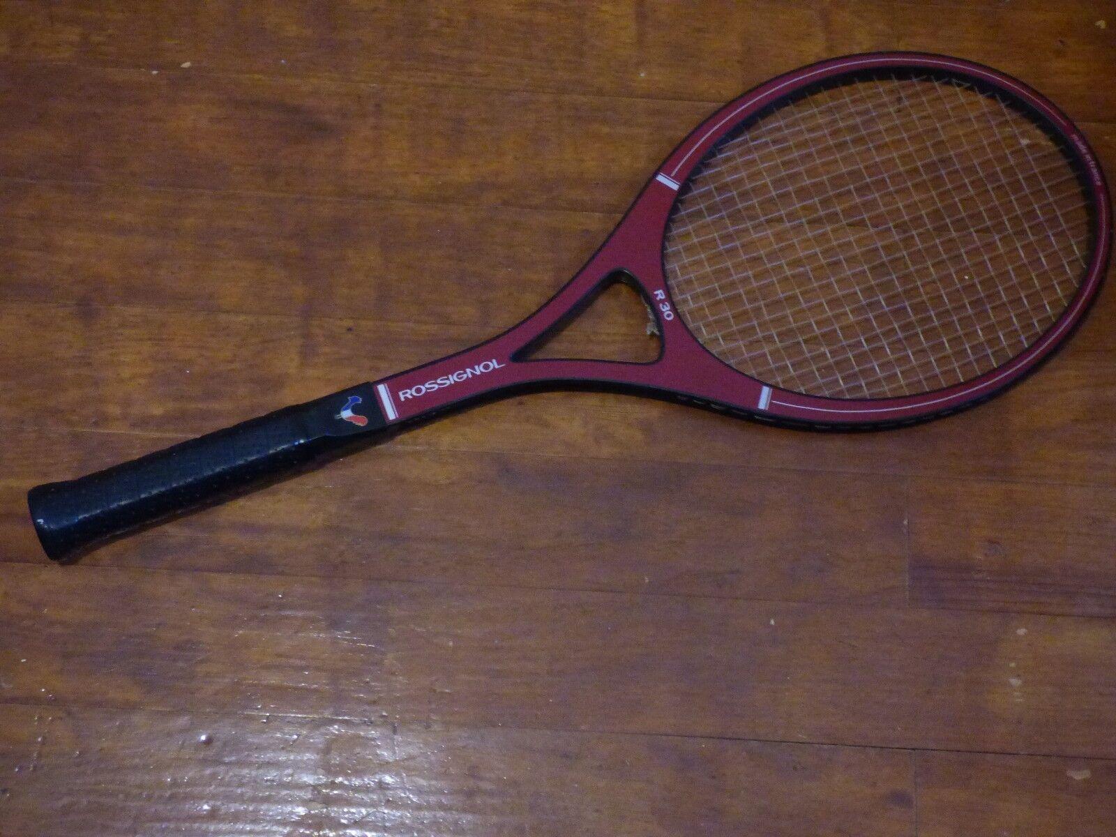 Raqueta de tenis Rossignol R 30 L vintage 4 1 2