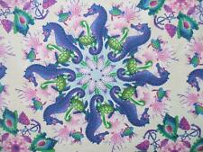 Treasures of Nature Undersea Swirl Circle Pink In The Beginning Fabric Yard