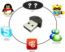 Mini USB 2.0 Wireless Microphone MIC Audio Adapter Driver For MSN/PC/Mac/Laptop