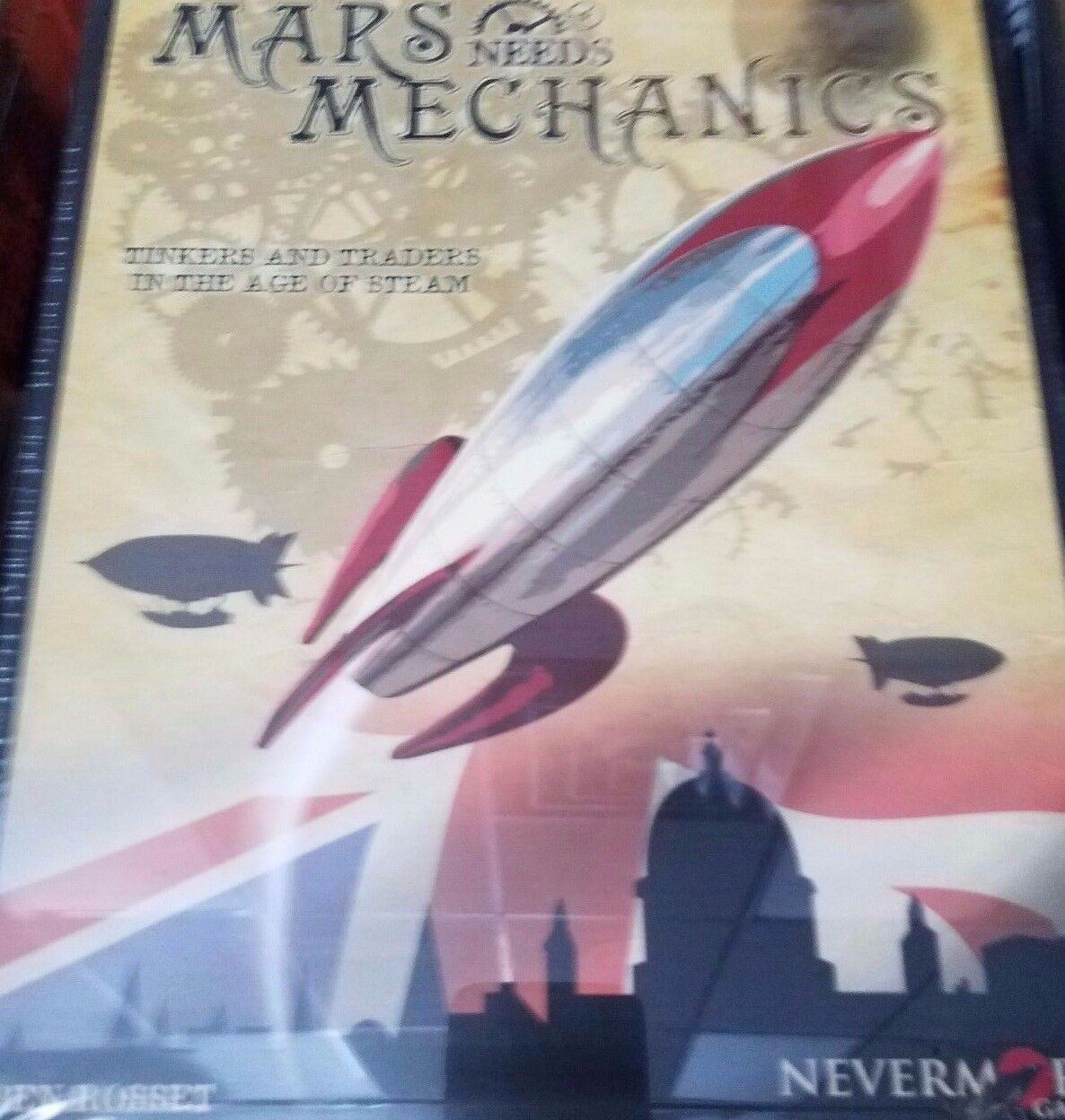 Mars Needs Mechanics - Board Game Awesome Games New