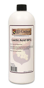 Lactic Acid (88%), 32oz 888690261112