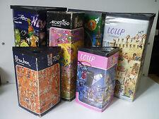 Lot de 6 Puzzle Heye ancien 80's / Mordillo, Ryba, Loup, Jabo, Blachon
