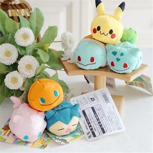 TSUM-TSUM-Pokemon-Pikachu-Squirtle-bulbasaur-Charmander-Mew-Plush-Mini-Soft-Toy