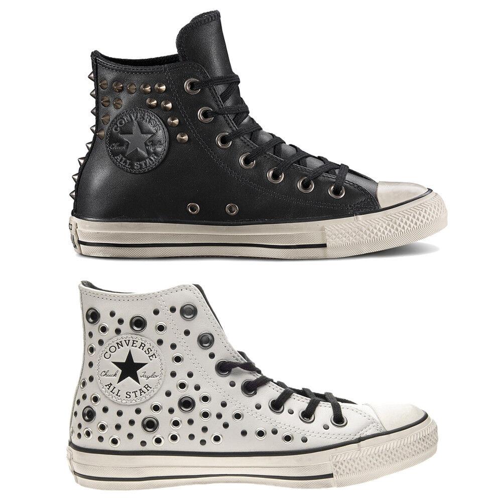 CONVERSE zapatos zapatos zapatos de mujer  All Star Hi  TACHUELAS Piel ZAPATILLAS Originales  entrega rápida
